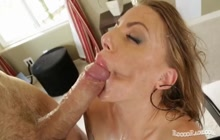 Blonde bombshell fucked by Rocco Siffredi