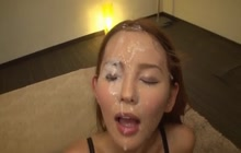 Five facials for Japanese cutie
