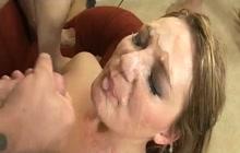 Bukkake facials